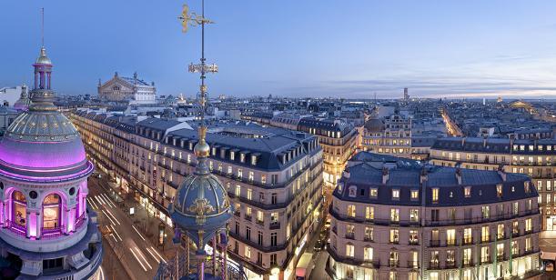 Rooftop of the Printemps Haussmann, Paris - Kinto