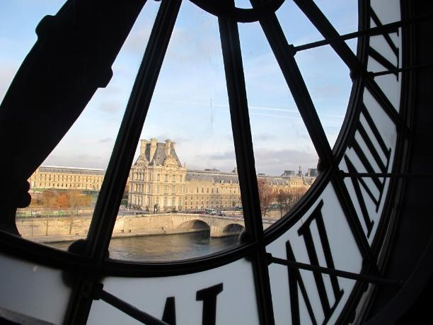 View from the clock of the Orsay museum, Paris - Kinto
