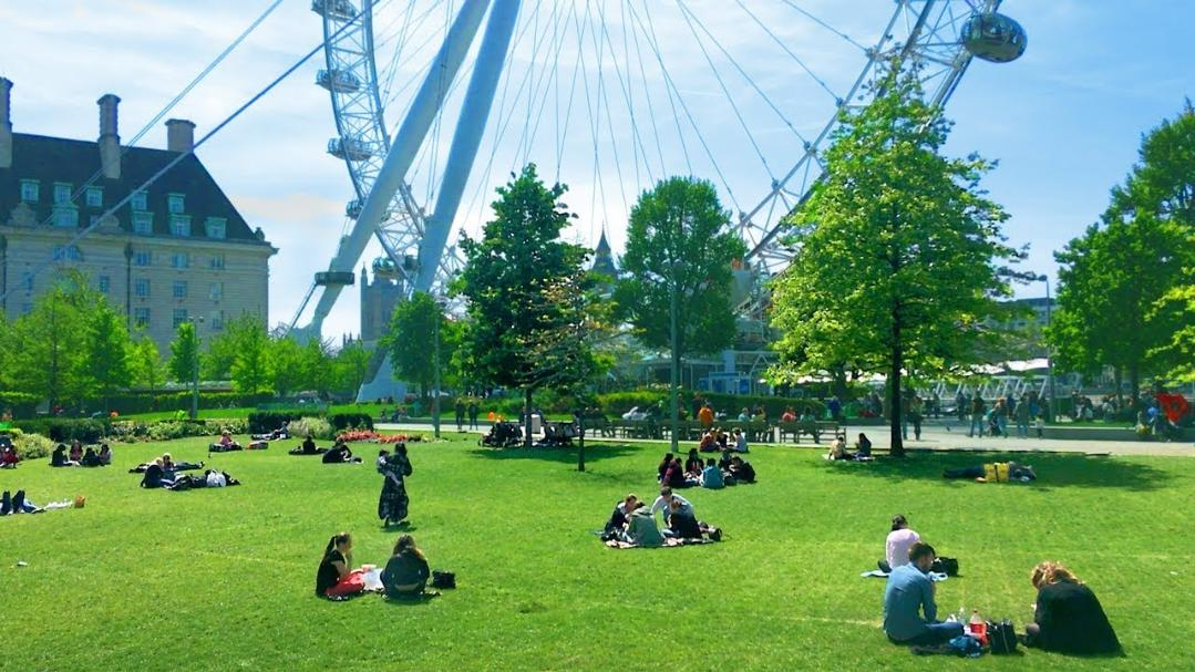 Jubilee Gardens at Southbank, Londres - Kinto