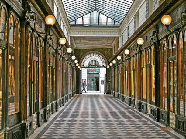 Véro-Dodat gallery, Paris - Kinto