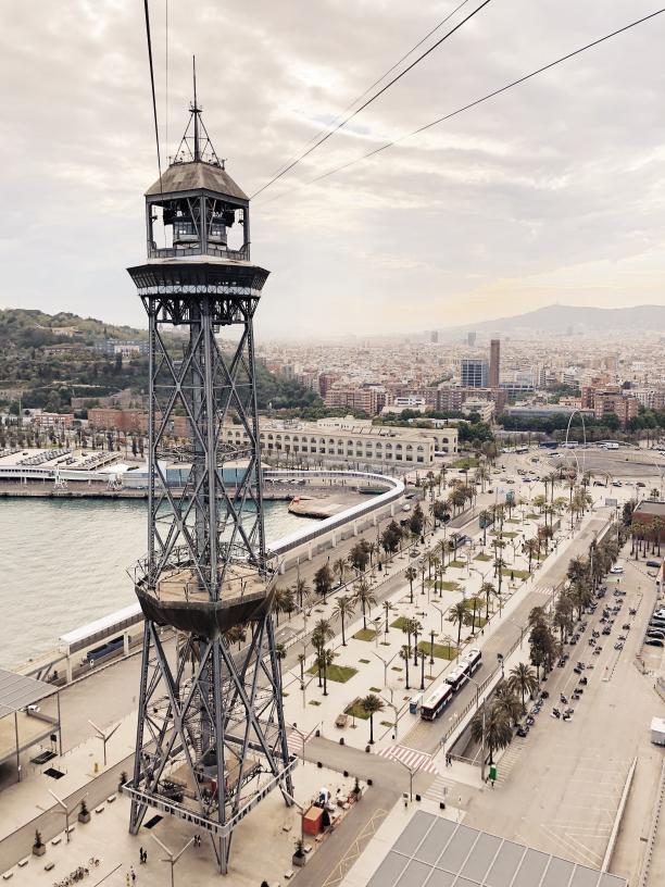 Telefèrico del Puerto, Barcelona - Kinto