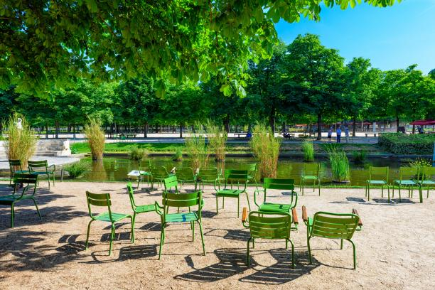 Jardin des Tuileries, Paris - Kinto