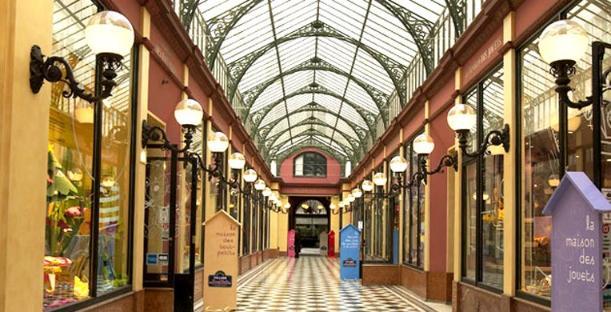 Princes' Passage, Paris - Kinto
