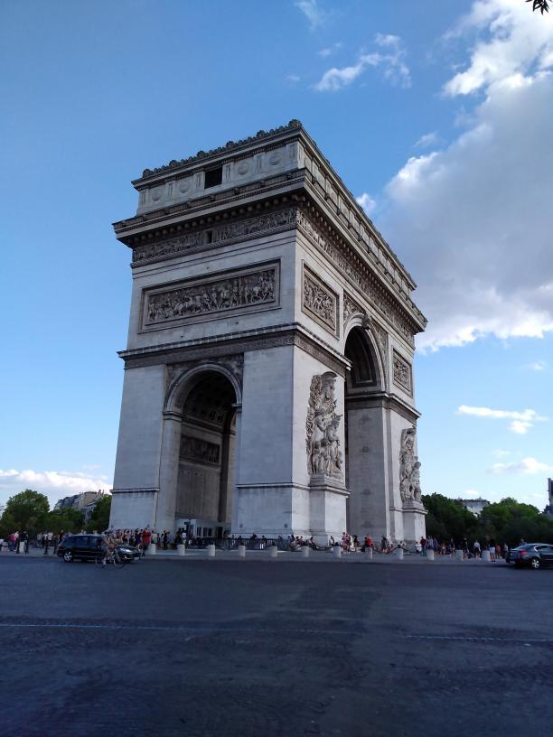 Arc de Triomphe, Paris - Kinto