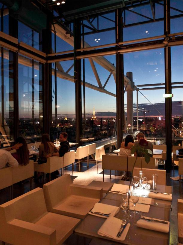 Top of Pompidou center, Paris - Kinto
