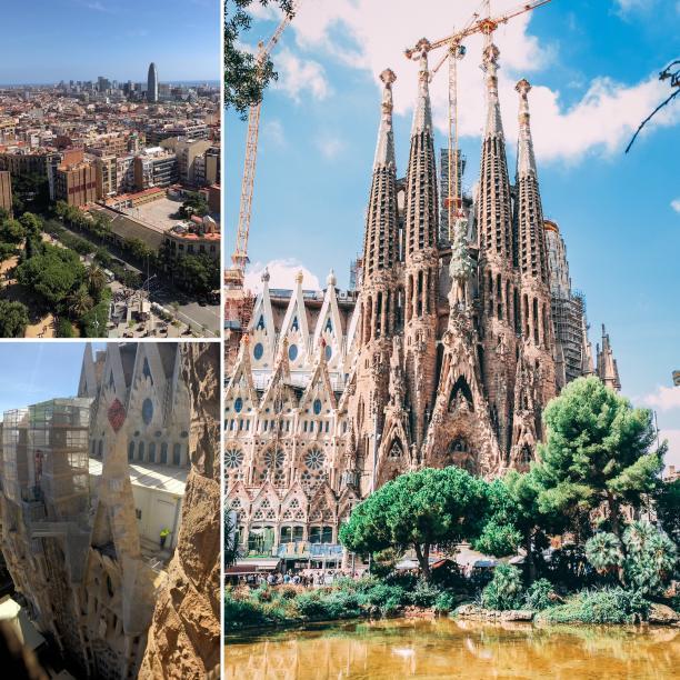 Sagrada Familia towers, Barcelona - Kinto