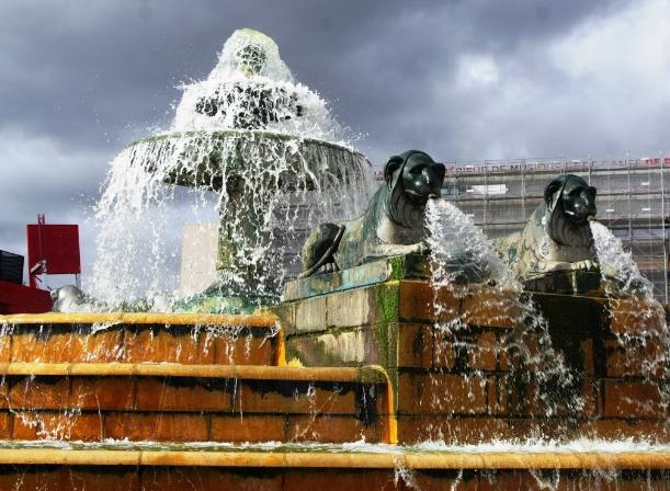 Lions fountain, Paris - Kinto
