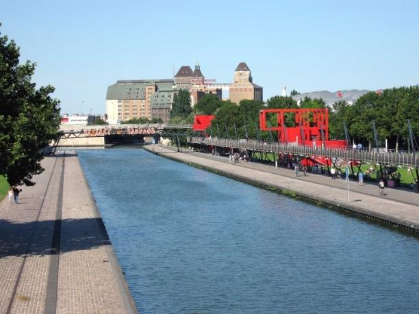 Cycle along the waterways of Paris, paris - Kinto