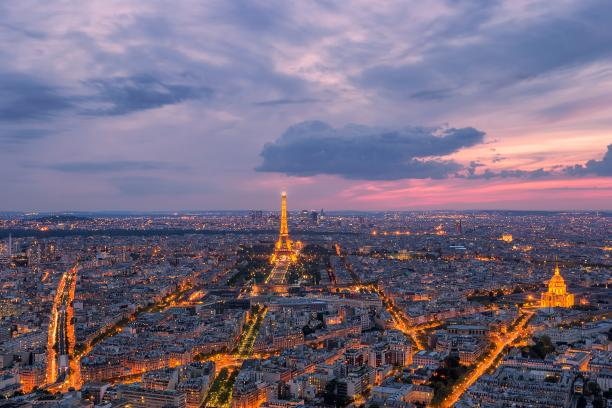 Panoramic views of Paris, paris - Kinto