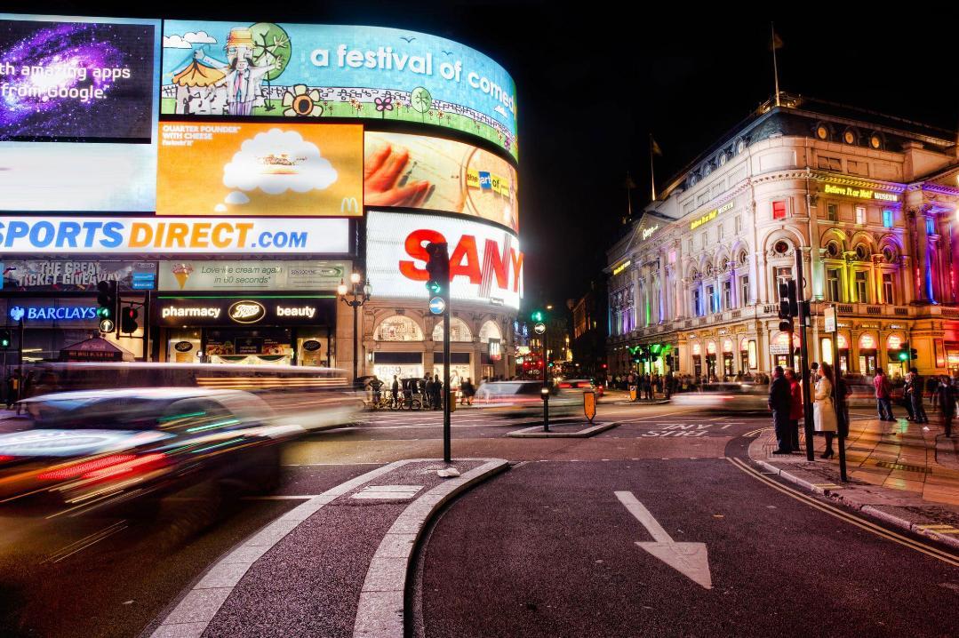 Piccadilly Circus, London - Kinto