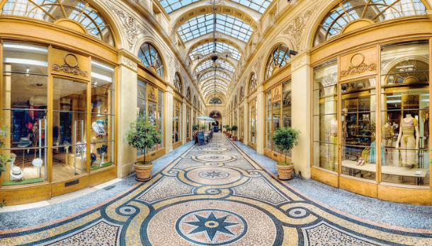 Vivienne gallery, Paris - Kinto
