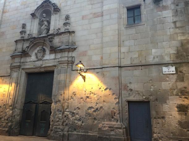 Sant Felip Neri square, Barcelona - Kinto