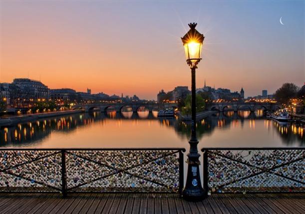 Pont des Arts, Paris - Kinto