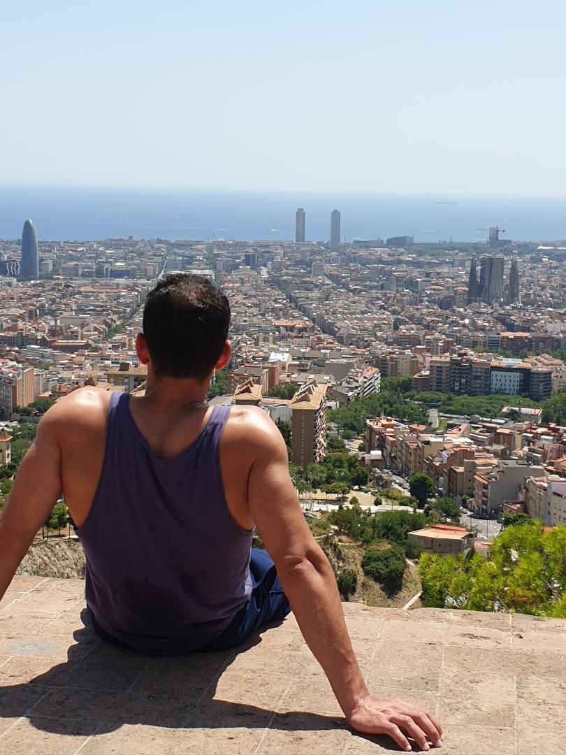 Turó de la Rovira- The Bunkers, Barcelona - Kinto
