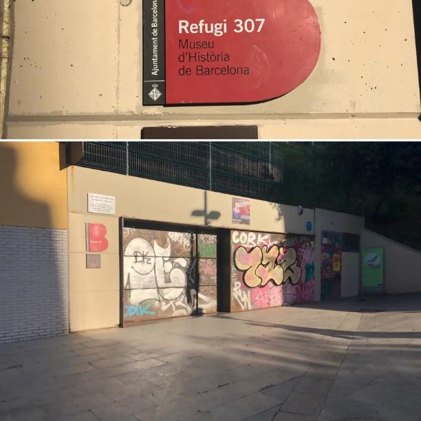 Refugi 307 museum, Barcelona - Kinto