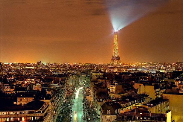 Top of Arc de Triomphe, Paris - Kinto