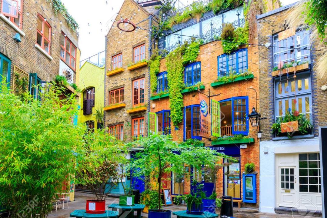 Neal's Yard, Convent garden, Londres - Kinto
